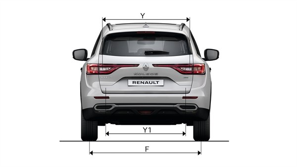 Renault KOLEOS - rear view of vehicle