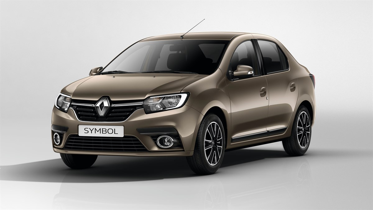 Renault SYMBOL sideview dynamic design