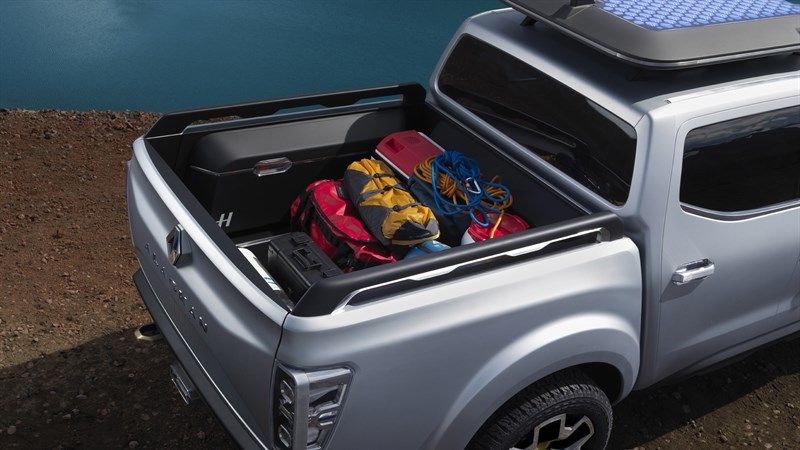 Camping equipment loaded in Renault ALASKAN concept car - Renault Dubai
