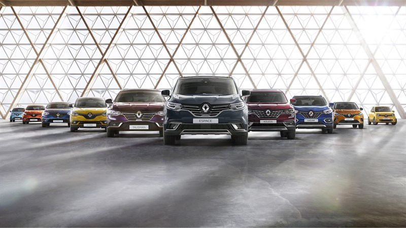 Showcasing Renault cars in one picture - Renault Dubai
